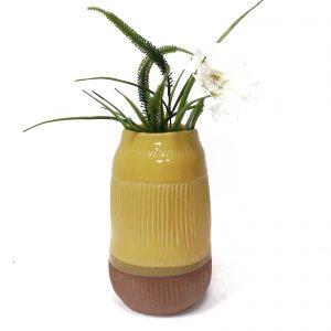 אגרטל חרדל לפרחים בינוני