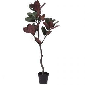 עץ פיקוס מלאכותי בינוני