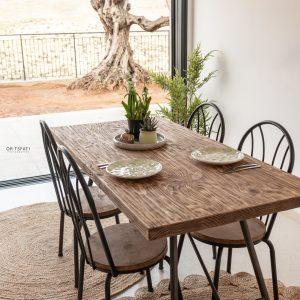 כיסא לפינת אוכל מעץ