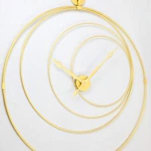 שעון ״טבעות״ ממתכת צבע זהב 502