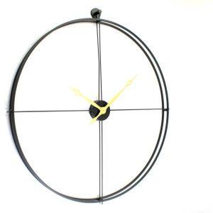 שעון מתכת בעיצוב קלאסי 506