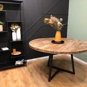 שולחן פינת אוכל אלגנטי מעץ מלא | PERAMA120