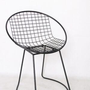 כיסא ״רשת״ מתכתי