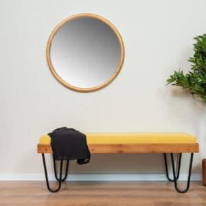 ספסל מעוצב רגלי סיכה דגם KAI A