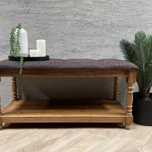 ספסל עץ מלא   COPPER