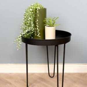 שולחן צד מתכתי | SINGLE