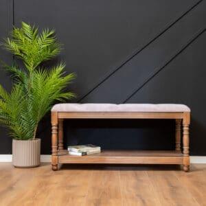 ספסל עץ מלא דגם Astril A
