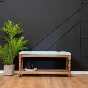 ספסל עץ מלא דגם Astril B