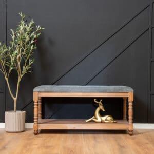 ספסל עץ מלא דגם Astril D