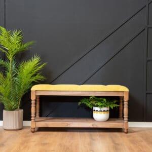 ספסל עץ מלא דגם Astril C