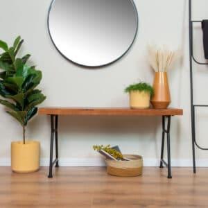 ספסל מעץ מלא | JONA B