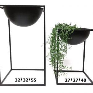 זוג מעמדים לעציצים ממתכת | NERO