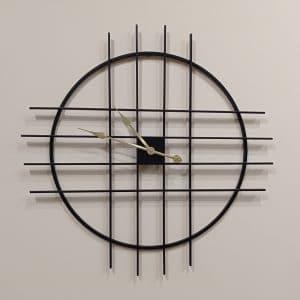 שעון מתכת שחור 80
