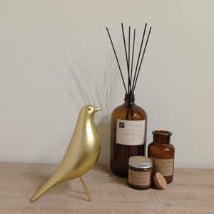 ציפור דקורטיבית זהב מט | ORO