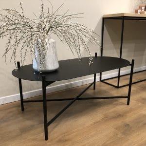 שולחן סלון Iron OVALE