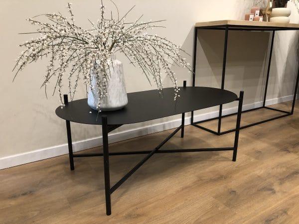 Iron OVALE שולחן סלון