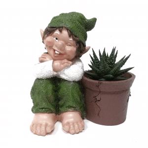 גמד גינה ירוק | AMMICCANDO