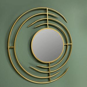 מראת זהב דקורטיבית | MIRA