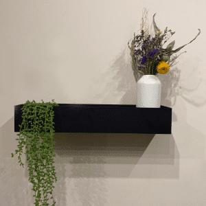 מדף מתכת שחור | PLANT S