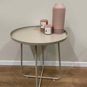 שולחן צד ממתכת   TONDO PIETRA