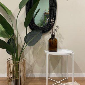 שולחן צד לבן | TAVOLINO