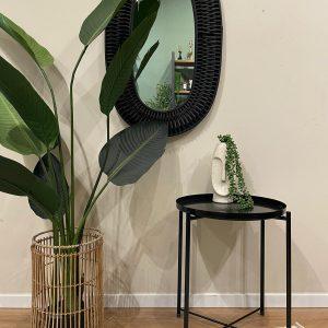 שולחן צד שחור | TAVOLINO