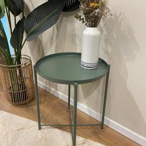 שולחן צד ירוק | TAVOLINO