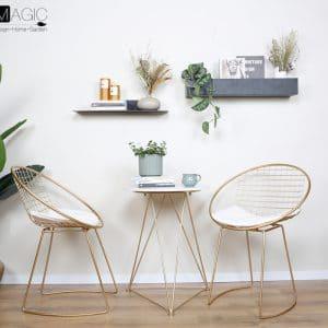 סט 2 כסאות ושולחן   STELLA